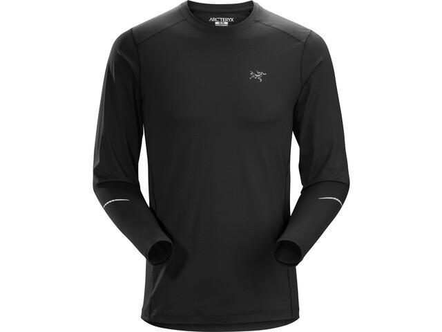 Arc'teryx Motus Koszulka z długim rękawem Mężczyźni, black